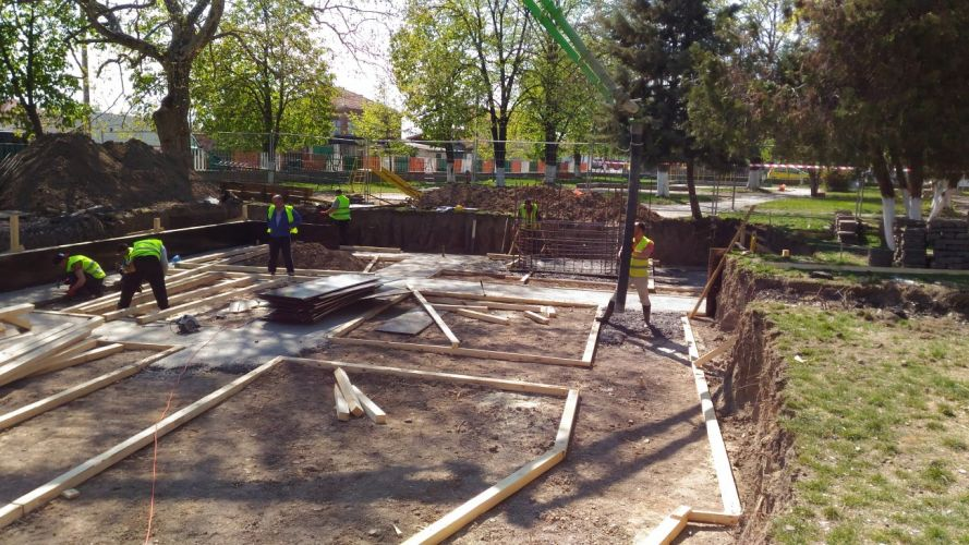 Изграждане на ЦДГ с. Рогош общ. Марица