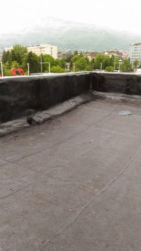Ремонт на покривна хидроизолация – Г.М. Димитров